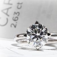 ¿Cómo distinguir las calidades de diamantes? 4C's - Peso
