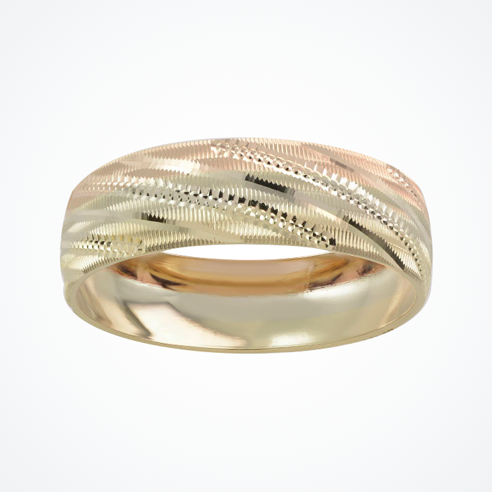 Argolla de Matrimonio de Oro Amarillo de 10k de 6 mm